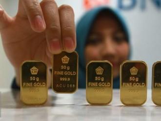 Harga Emas Turun 1000 Rupiah